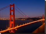 Golden Gate Bridge In The Evening