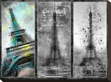 City-Art Paris Eiffel Tower Collage