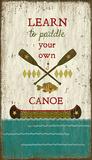 Paddle Canoe