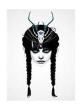 Wakeful Warrior Reproduction d'art par Ruben Ireland