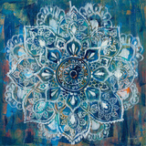 Mandala in Blue II