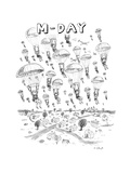 'M-Day' - New Yorker Cartoon