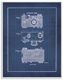 Vintage Camera Blueprint