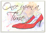 Watercolors Once Upon a Time Slippers