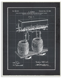 Vintage Brewing Process Blueprint
