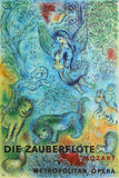 Metropolitan Opera, The Magic Flute Reproduction pour collectionneurs par Marc Chagall