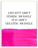 Life Isn't About Finding