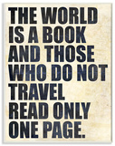 The World is a Book Distressed