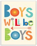 Boys Will Be Boys Multi-Color with Arrow