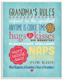 Grandma's Rules with Icons