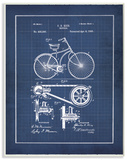 Vintage Bike Blueprint