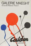 Calder Exhibition at Galerie Maeght (Fleches)