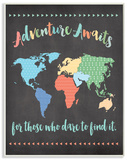 Adventure Awaits World Map