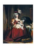 Marie-Antoinette et Ses Enfants 1787