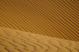 Close-up of desert sand dunes  Sahara  Morocco  january
