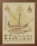 Antique Ship Plan I
