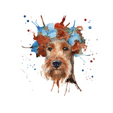 The Dog's Muzzle in the Headdress is Made in the Form of a Wreat