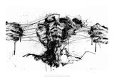Drawing Restraints Reproduction d'art par Agnes Cecile