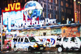 New York Police - In the Style of Oil Painting