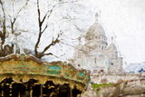 Montmartre - In the Style of Oil Painting