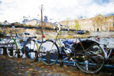 French Bicycles - In the Style of Oil Painting