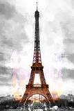 Eiffel Spot Colors Giclée par Philippe Hugonnard