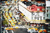 City Taxis II - In the Style of Oil Painting