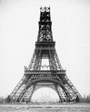 The Eiffel Tower - State of Construction  1888