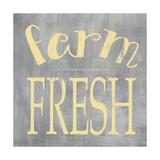 Farm Fresh Grey Reproduction d'art par Alli Rogosich