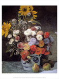Flowers in a Vase  1869