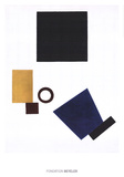 Suprematism: Self Portrait in two dimensions
