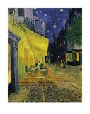 The Cafe Terrace On The Place Du Forum, Arles Édition limitée par Vincent Van Gogh