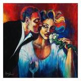 The Scent of Love Reproduction d'art par Monica Stewart