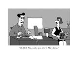"""""""Oh  Herb Not another open letter to Miley Cyrus"""" - New Yorker Cartoon"""