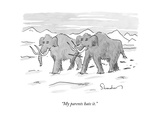 """My parents hate it"" - New Yorker Cartoon"