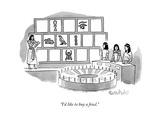 """I'd like to buy a fowl"" - New Yorker Cartoon"