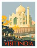 Visit India - Taj Mahal - Agra  India