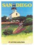 San Diego  California - Old Point Loma Lighthouse