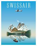Switzerland - Swissair - Douglas DC-4 Airliner