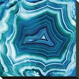 Agate in Aqua