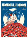 Honolulu Moon - Words and Music by Fred Lawrence