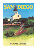 San Diego  California - Old Point Loma Lighthouse