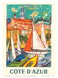 Cote D'Azur - Menton  France