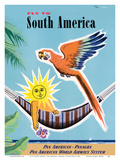 Fly to South America - Pan American - Panagra