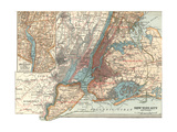 Map of New York City (C 1900)  Maps
