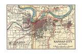Map of Kansas City (C 1900)  Maps