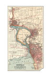 Map of Buffalo and the Niagara Frontier (C1900)