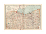 Map of Ohio  Northern Part United States