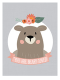 You Are Beary Loved Reproduction d'art par Amy Brinkman