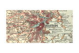 Detail of Boston (C 1900)  Maps